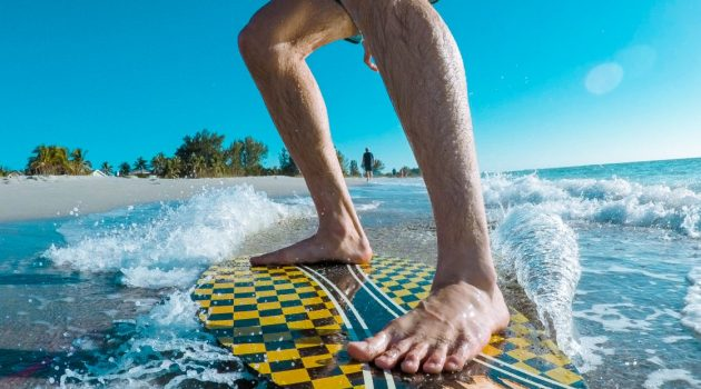 Great Beaches to Skimboard in Texas